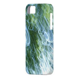 luz abstracta del squiggle iPhone 5 protectores