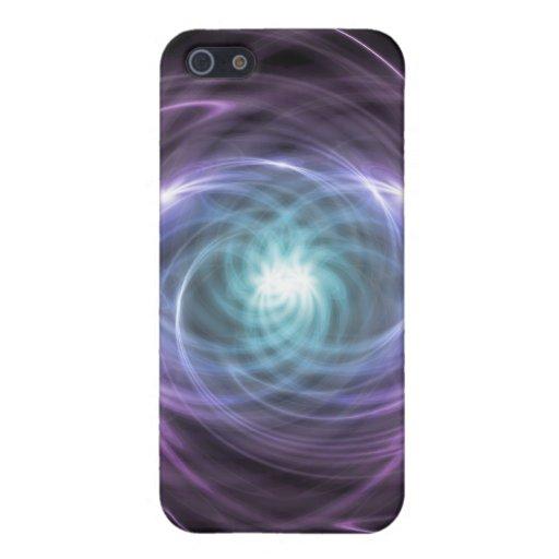 Luz abstracta iPhone 5 carcasas