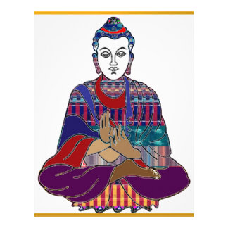 LUZ buena del AMOR NVN633 del Buddhism de BUDA Mah Plantilla De Membrete