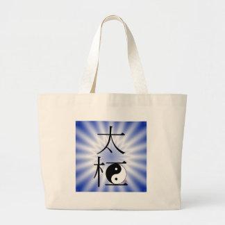 Luz china de Ying Yang de la ji del Tai Bolsa