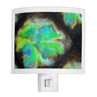 Luz cósmica de la noche de la nebulosa y del polvo lámparas de noche