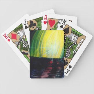 Luz creciente baraja de cartas