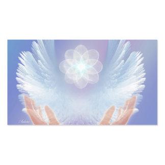 Luz curativa tarjetas de visita