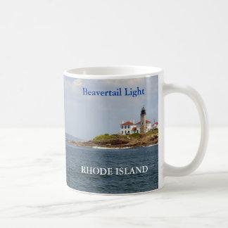 Luz de Beavertail, taza de Rhode Island