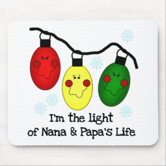Luz de camisetas y de los regalos de la vida de Na Tapete De Raton