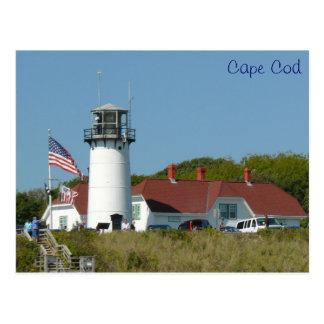 Luz de Chatham, Cape Cod Postales