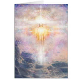 Luz de Cristo Tarjeta De Felicitación