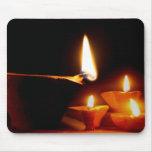 Luz de Diwali Alfombrillas De Ratón