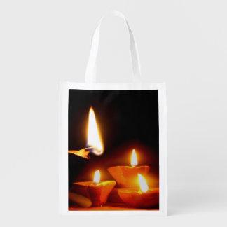 Luz de Diwali Bolsas De La Compra