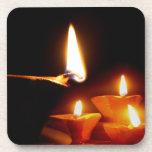 Luz de Diwali Posavasos De Bebidas