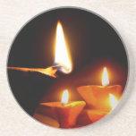 Luz de Diwali Posavasos Para Bebidas