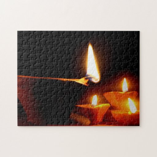 Luz de Diwali Rompecabezas