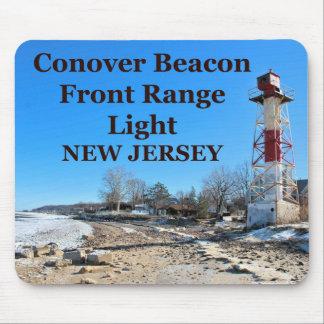 Luz de Front Range del faro de Conover, NJ Alfombrilla De Raton