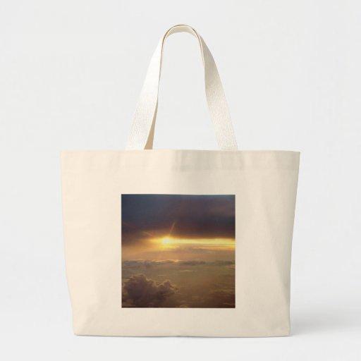 Luz de guía de la puesta del sol bolsas