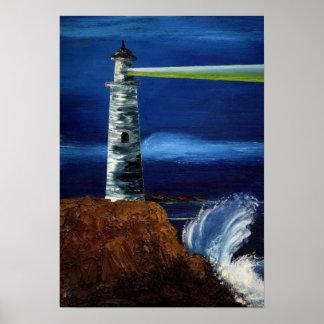 ¡LUZ DE GUÍA! ~ (de Lighthouse Design) Póster