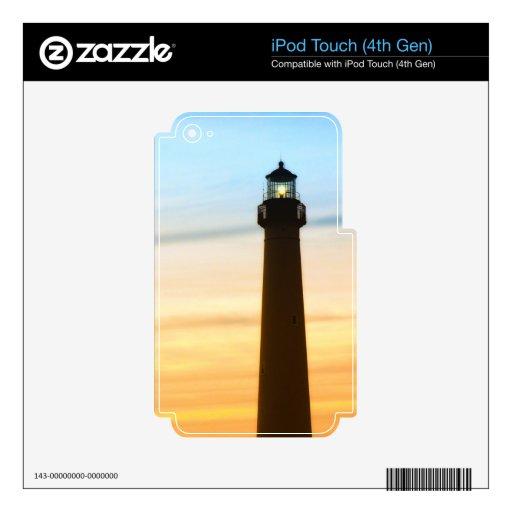 Luz de guía iPod touch 4G skin
