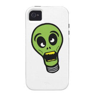 Luz de Halloween iPhone 4 Carcasa