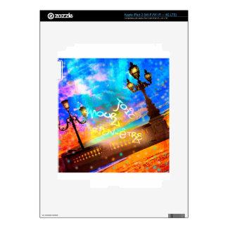 Luz de la alegría y del amorío iPad 3 pegatinas skins