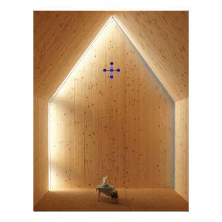 Luz de la capilla tarjeta publicitaria
