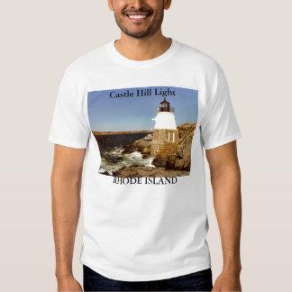 Luz de la colina del castillo, camisa de Rhode