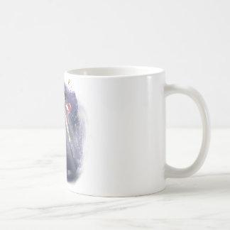 Luz de la estrella taza básica blanca