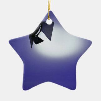Luz de la etapa adorno de cerámica en forma de estrella