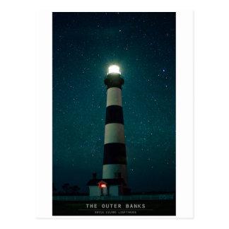 Luz de la isla de Bodie Tarjetas Postales