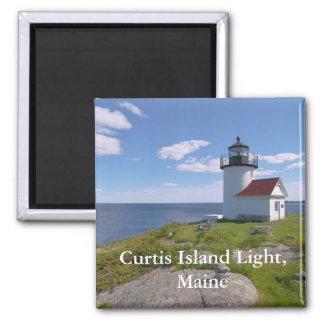 Luz de la isla de Curtis, imán de Maine