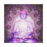 Luz de la meditación impresión en lona estirada