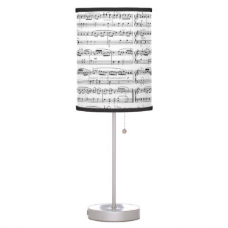 luz de la música lámpara de escritorio