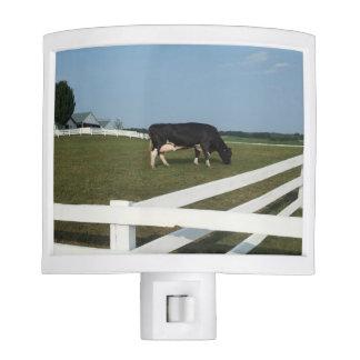 Luz de la noche de la vaca lámparas de noche