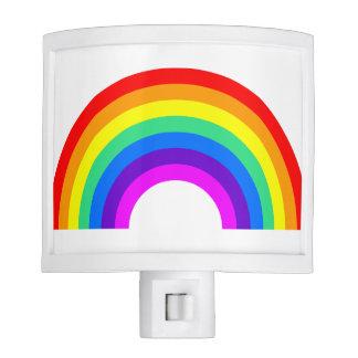 Luz de la noche del arco iris