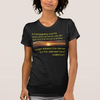 Luz de la palabra camisetas