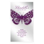 Luz de la púrpura de la mariposa del salón de la t