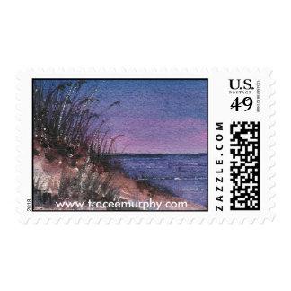 Luz de la tarde timbres postales