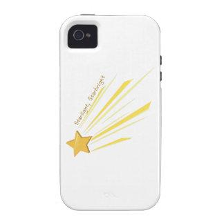 Luz de las estrellas Starbright iPhone 4 Carcasas