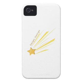 Luz de las estrellas Starbright iPhone 4 Case-Mate Coberturas