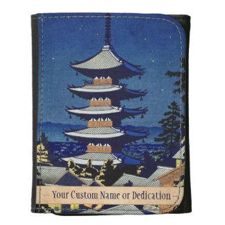 Luz de luna en la pagoda Asano Takeji de Yasaka