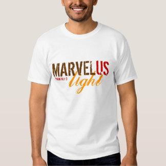 Luz de MarvelUS Playeras