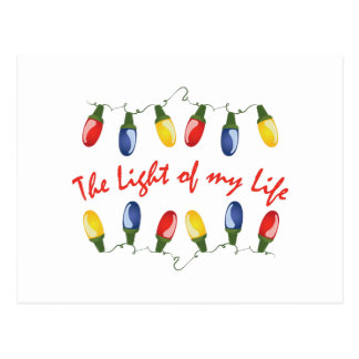 Luz de mi vida tarjetas postales