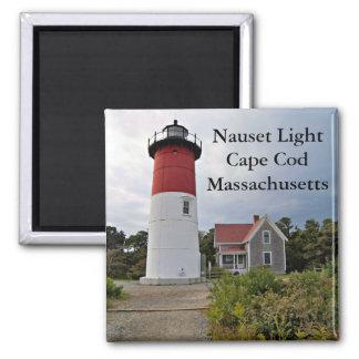 Luz de Nauset Cape Cod imán de Massachusetts