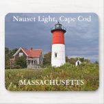 Luz de Nauset, Cape Cod, Massachusetts Mousepad Tapetes De Raton