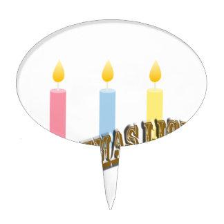 Luz de navidad decoración de tarta