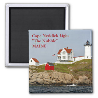 Luz de Neddick del cabo, imán de Maine