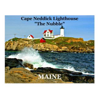 Luz de Neddick del cabo postal de Maine