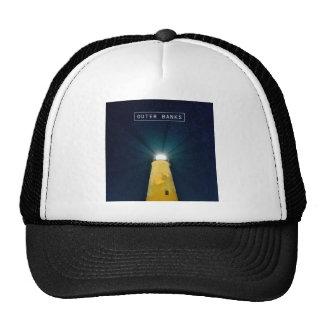 Luz de Ocracoke Gorras