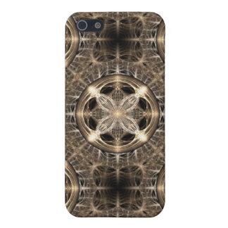 Luz de oro iPhone 5 carcasa