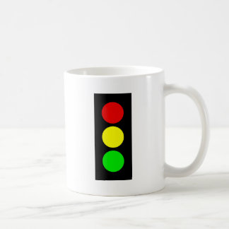 Luz de parada taza básica blanca