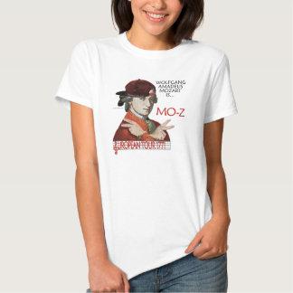 """Luz de s de la camisa de Mozart """"MES-z"""" viaje"""