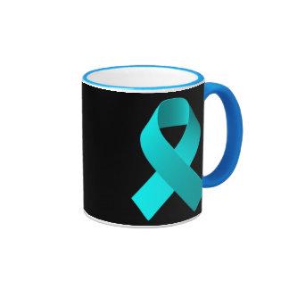Luz del azul de la cinta de la ayuda de la taza de dos colores